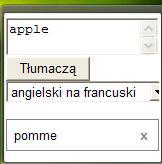 podręczny tłumacz, Google Desktop, translator