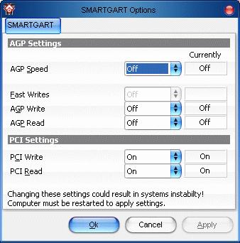 ATI overclocking, tuning, przyspieszanie łącza AGP na starszych płytach głównych