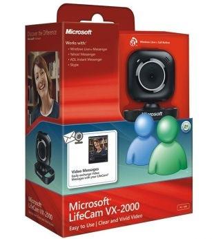 LifeCam VX-2000, Recenzja Microsoft LifeCam VX-2000, Microsoft LifeCam VX-2000