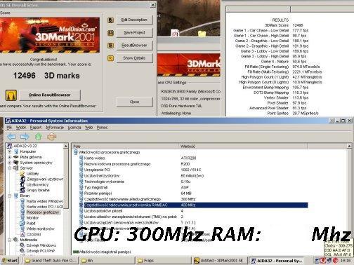 Radeon 8500 Overclocking