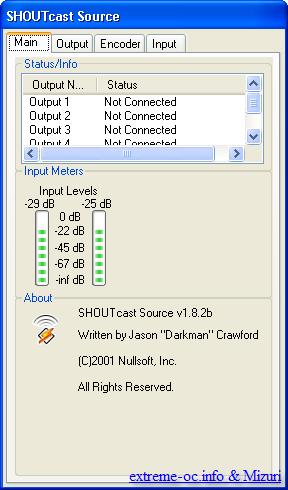 internetowa rozgłośnia, internetowe radio, SHOUTcast WinAmp