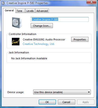Windows Vista, kompatybilność z SB Live!