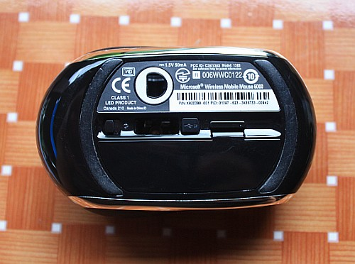 recenzja Microsft Mobile Mouse 6000, Microsft Mobile Mouse 6000