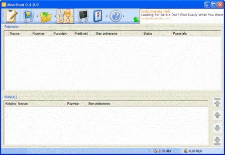 MoorHunt, hash, p2m, download mail, ściąganie plików