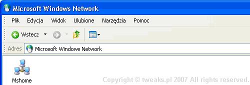 sieć lokalna, windows network, LAN