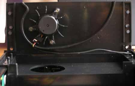 Cooler Master Cool Drive, panel Aerogate