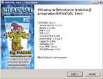 KrasnalServ, instalacja serwera, 127.0.0.1