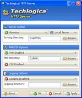 Techlogica HTTP Server, serwer http, własny serwer