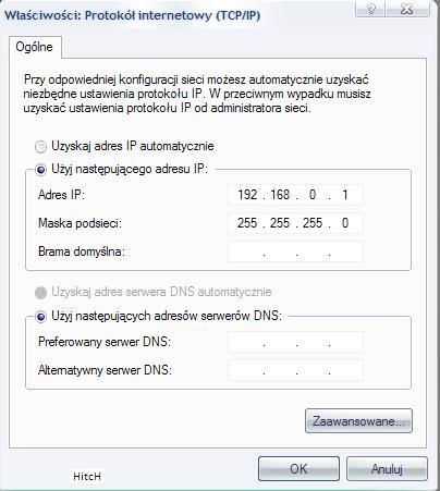 Konfiguracja sieci LAN w Windows XP,Adres IP, komputer w sieci LAN