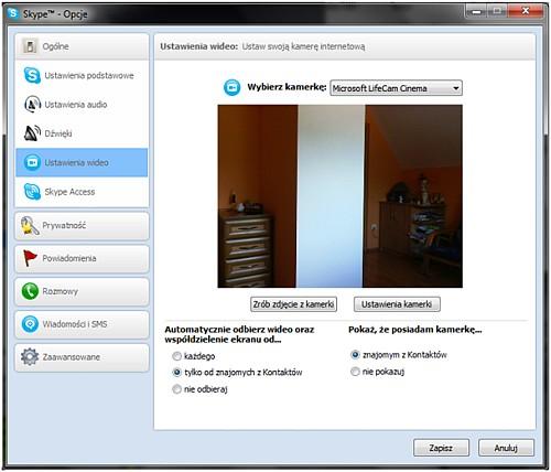 kamerka Microsoft LifeCam Cinema skype, test kamerki internetowej