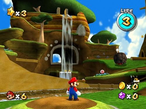 Super Mario Galaxy WII, gry WII