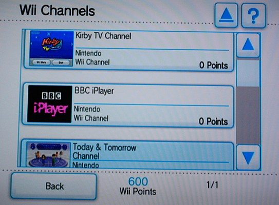 WII shop channels