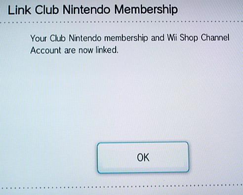 WII shop club