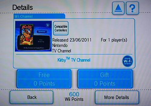 Wii shop kanały
