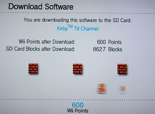 Wii Shop download
