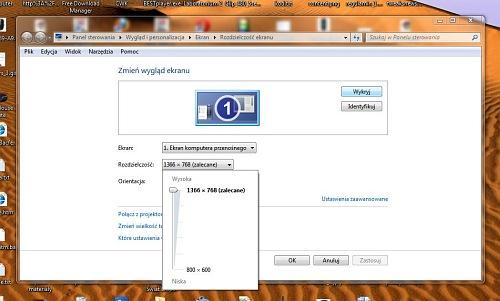 Aktywacja ukrytych rozdzielczości w Windows 7, zmiana rozdzielczości, rozdzielczość ekranu, brak rozdzielczości, ustawienie rozdzielczości, własna rozdzielczość