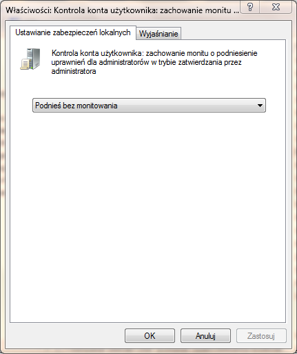 UAC, kontrola konta użytkownika, administrator Windows, jak wyłączyć UAC