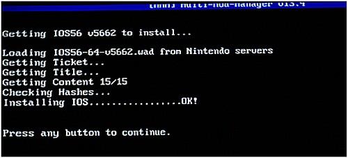 Aktualizacja kanału WII SHOP, Multi Mod Manager