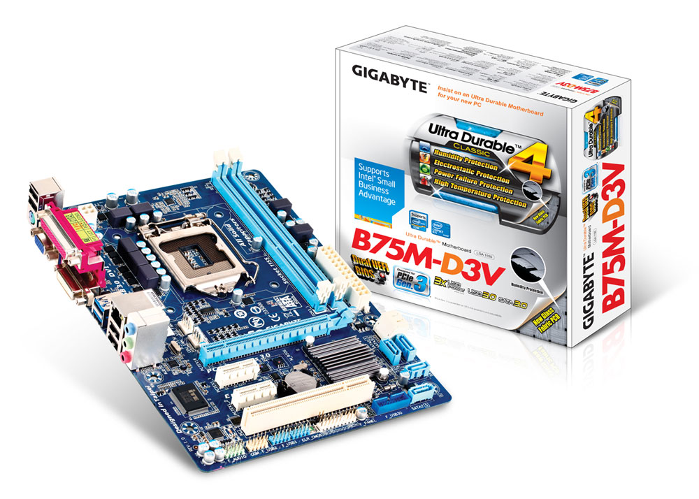 Gigabyte B75M-D3V