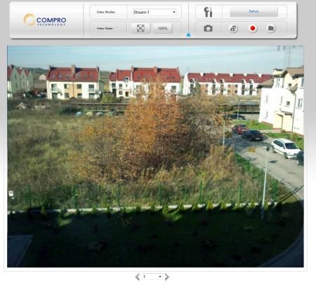 zrzut ekranu Compro CS80