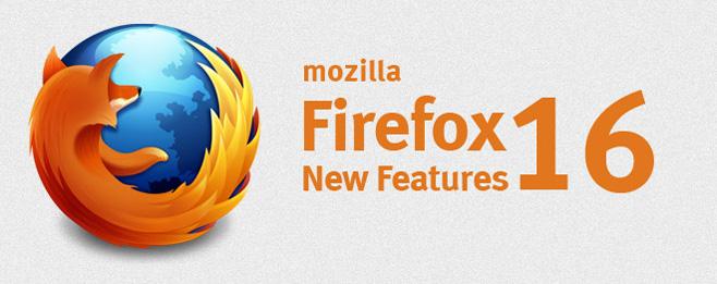 Firefox 16
