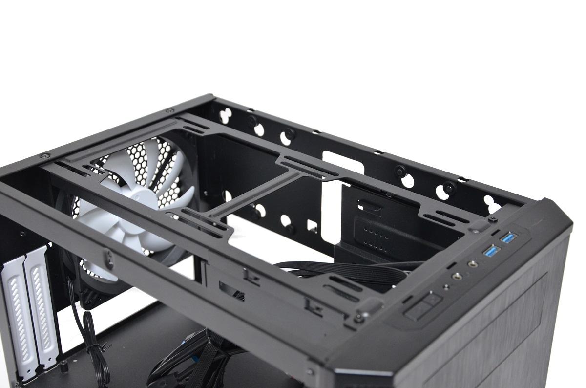 Fractal Design Core 500 wnętrze