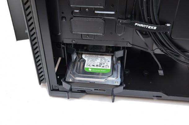 Phanteks Enthoo Pro M sanki dysk 3,5 WD green 500gb 3