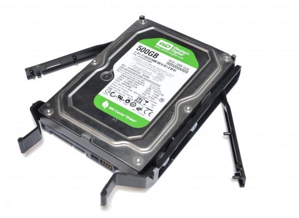 Phanteks Enthoo Pro M sanki dysk 3,5 WD green 500gb
