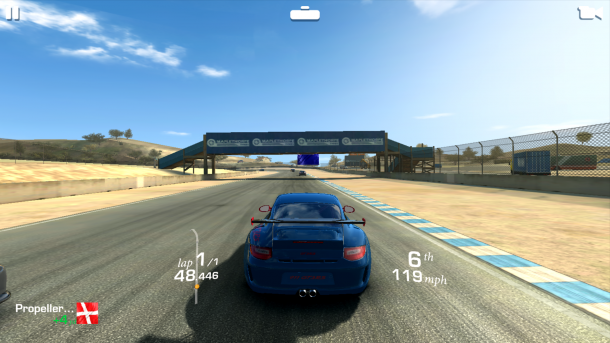 Sony Xperia X Performance Real Racing 3