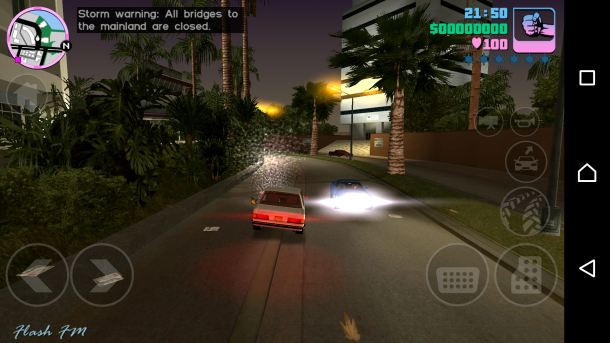 Sony Xperia X Performance GTA Vice City
