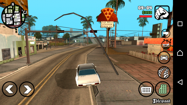 Sony Xperia X Performance GTA San Andreas