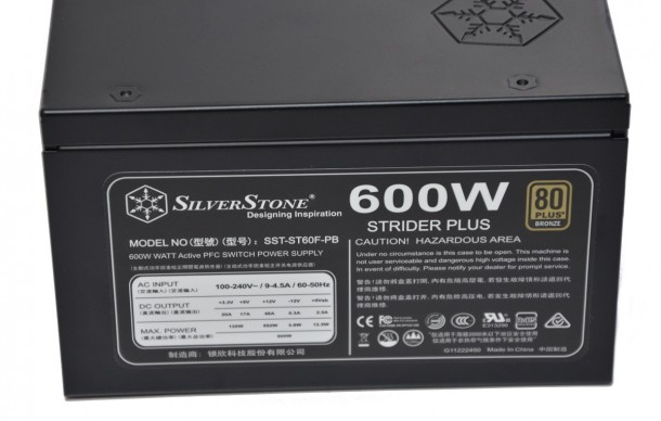 SilverStone Strider Plus st60f-pb 9