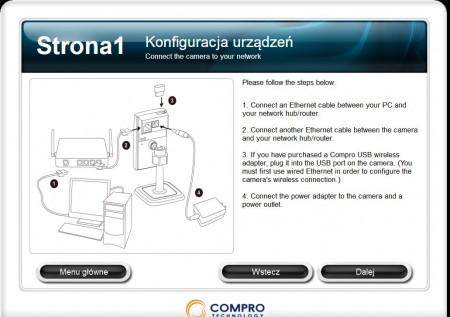 Compro CS80 konfiguracja