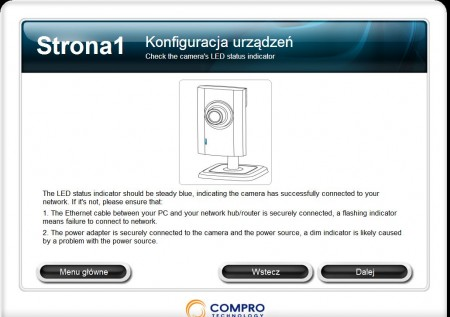 Compro CS80 instalacja