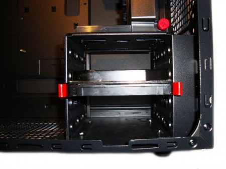 Chieftec LIBRA LF-02B - montaż dysku 3,25