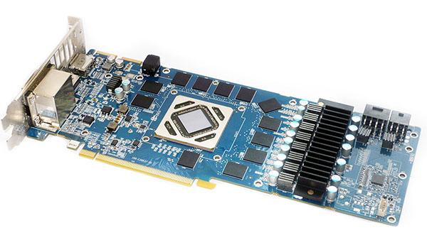 Sapphire HD7970 Vapor-X - płytka PCB