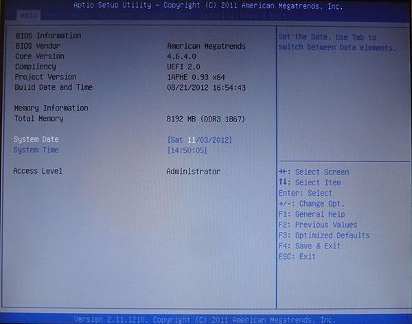Sapphire Pure Black P67 Hydra BIOS