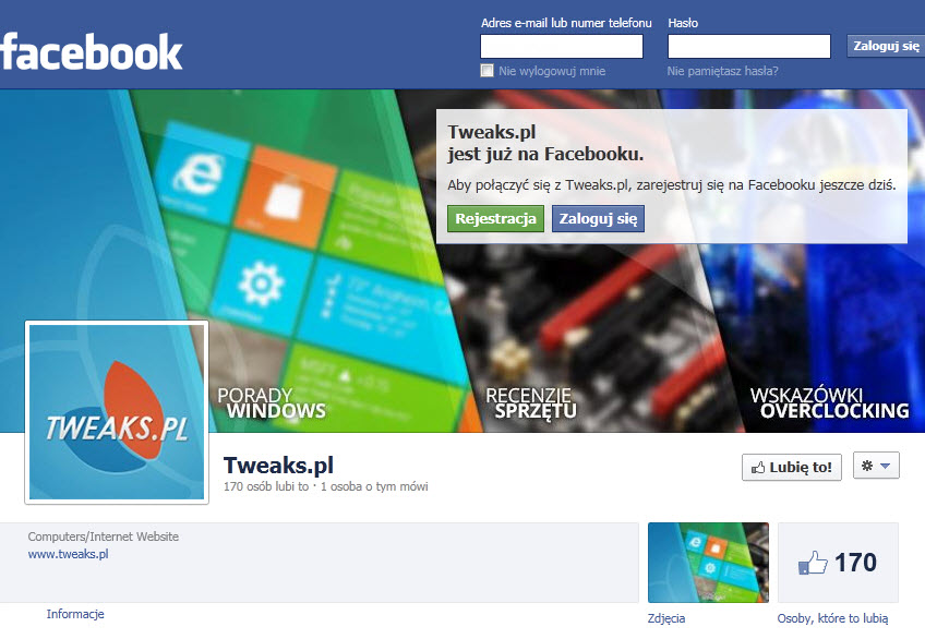 facebook Tweaks