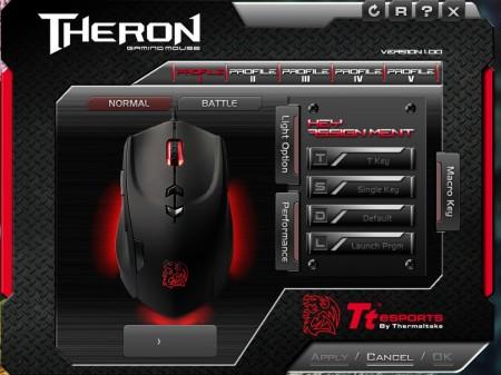 obsługa myszki, software Tt eSport Theron