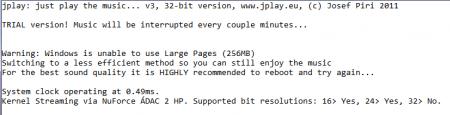jplay error, błąd programu jplay