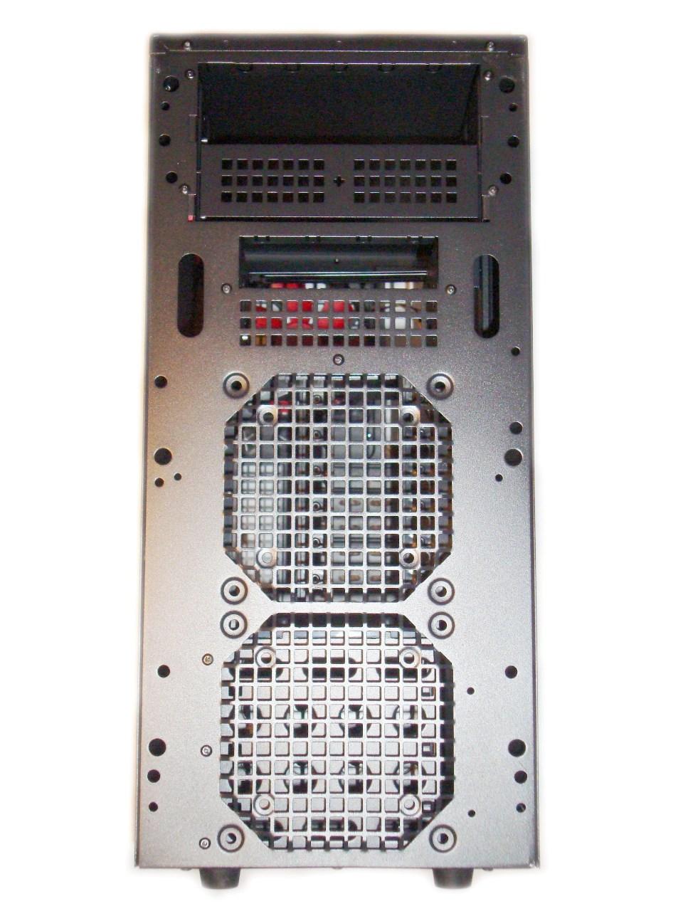 Chieftec LIBRA LF-02B - wygląd przodu obudowy bez frontu