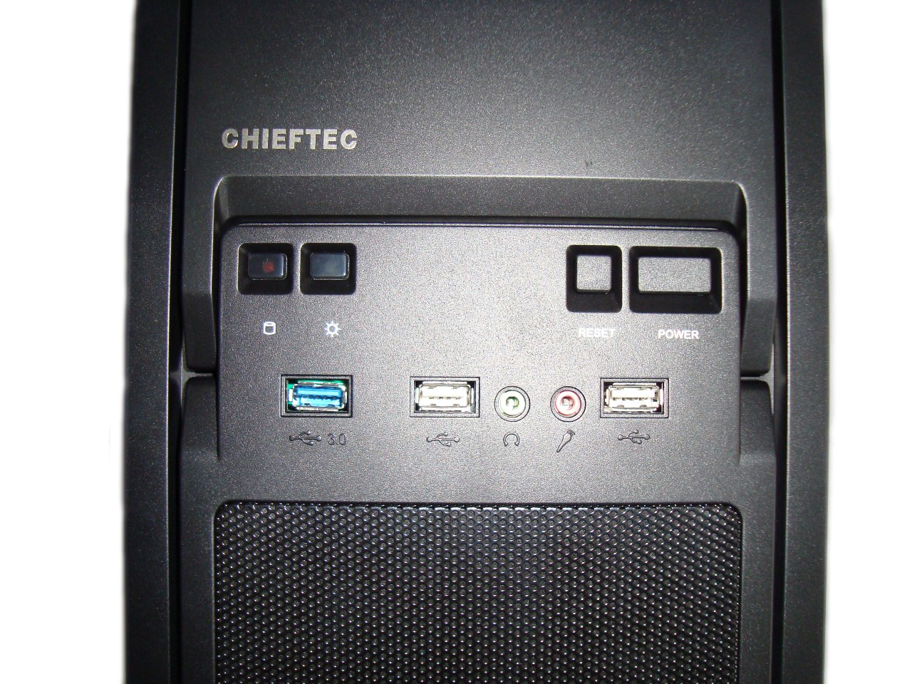 Chieftec LIBRA LF-02B - front panel