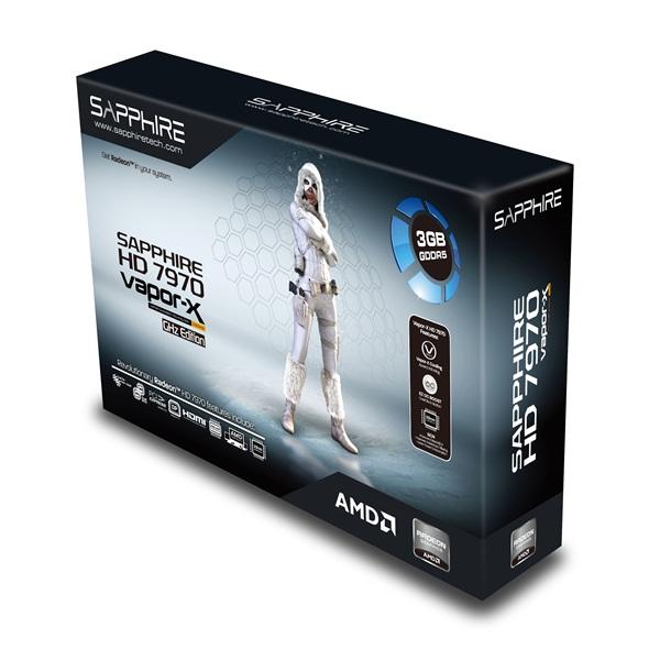 Sapphire HD7970 Vapor-X GHz Edition 3GB
