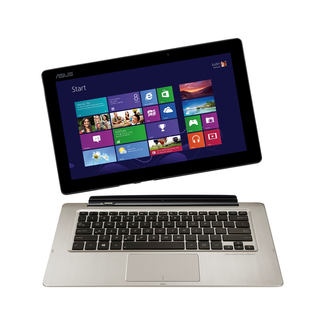 Asus transformer book tx300 notebook i tablet w jednym for Notebook tablet