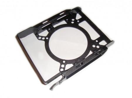 SilentiumPC Gladius X80 Pure Black - sanki montażowe do dysków