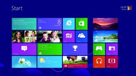 Windows 8_Ekran Startowy