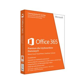 office 365 premium dla użytkowników domowych