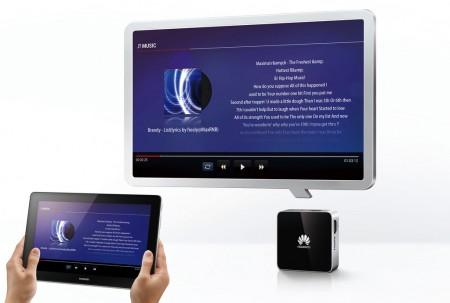 Domowy system multimedialny z HUAWEI MediaQ M310 2