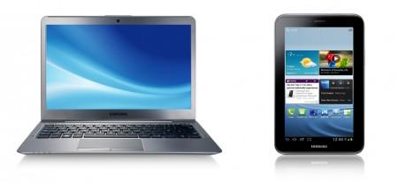 Notebook serii 5 ULTRA + GALAXY Tab 2 7.0=zgrana para w promocji Samsunga 2
