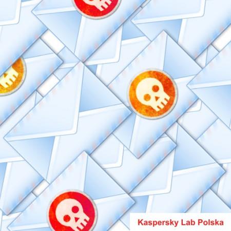 Poziom spamu mniejszy o 8 - raport Kaspersky Lab 1